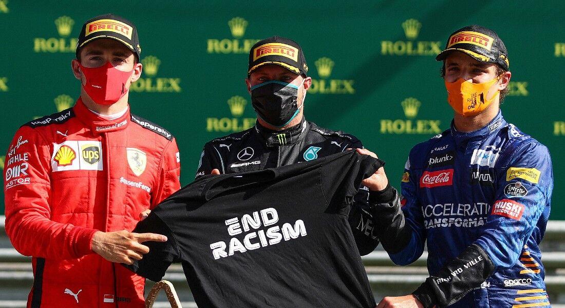 O finlandês Valtteri Bottas venceu o Grande Prêmio da Áustria de Fórmula 1