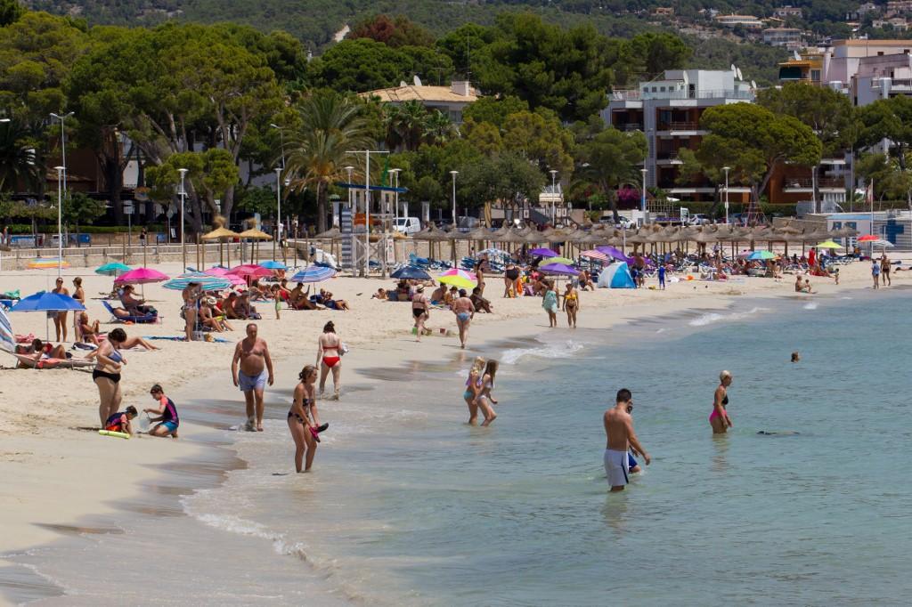 24% dos turistas nas regiões Baleares são alemães