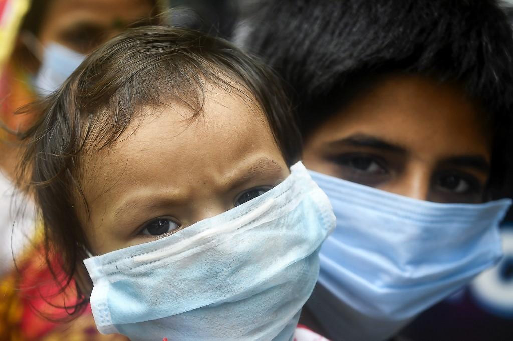 Crianças em Calcutá, na Índia