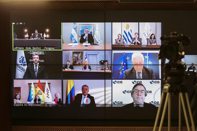LVI Cúpula de Chefes de Estado do Mercosul e Estados Associados (videoconferência)