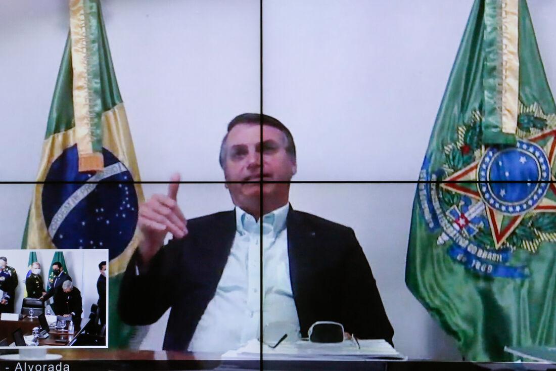 Jair Bolsonaro, Presidente da República.