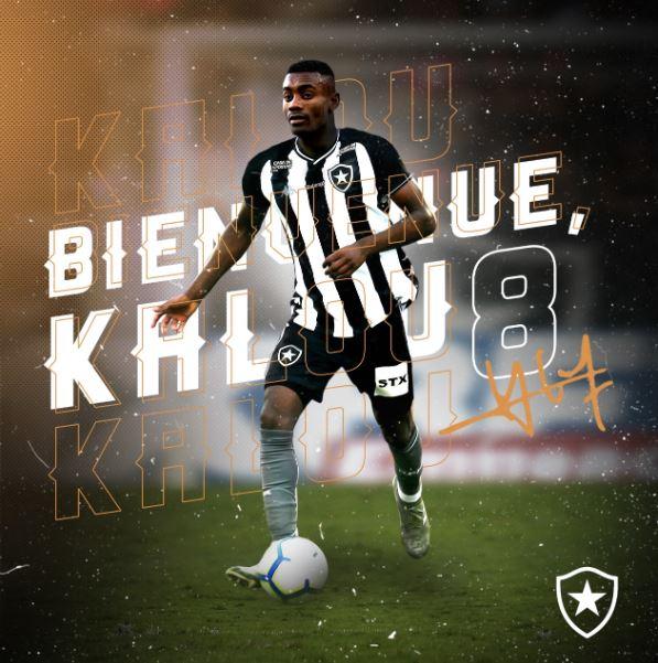 Salomon Kalou reforça o ataque do Botafogo