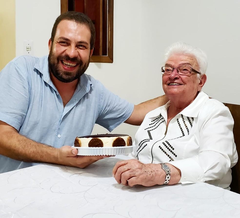 Guilherme Boulos e Luiza Erundina