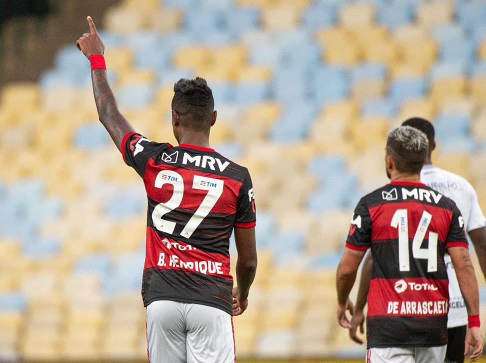 Bruno Henrique, atacante do Flamengo