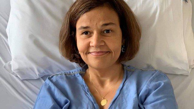 Atriz Cláudia Rodrigues