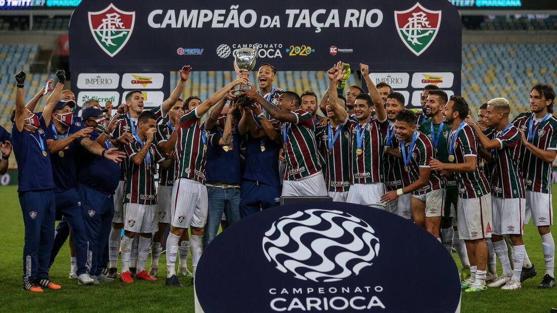 Fluminense vence Flamengo e é campeão