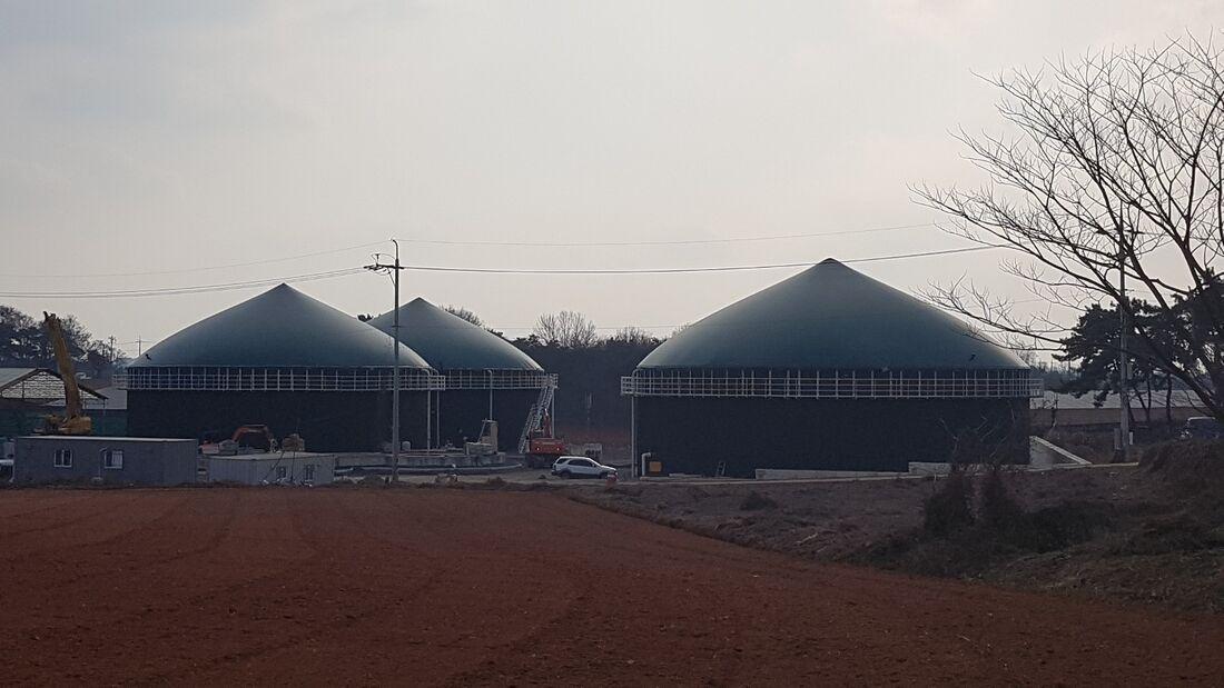 Usinas de biogás na Coreia do Sul