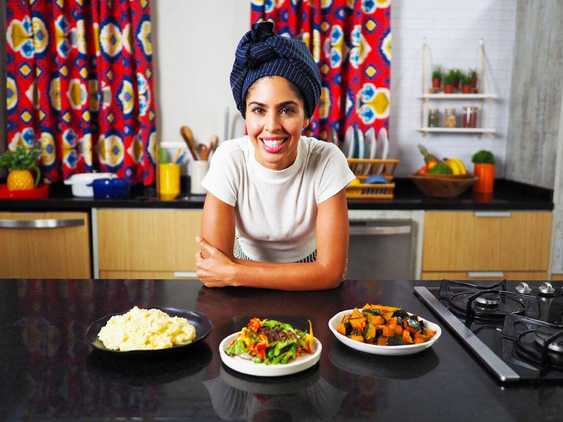 Bela Gil ensina receitas naturais, veganas e saudáveis