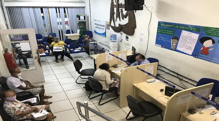 Procon Pernambuco já retomou com atendimento presencial
