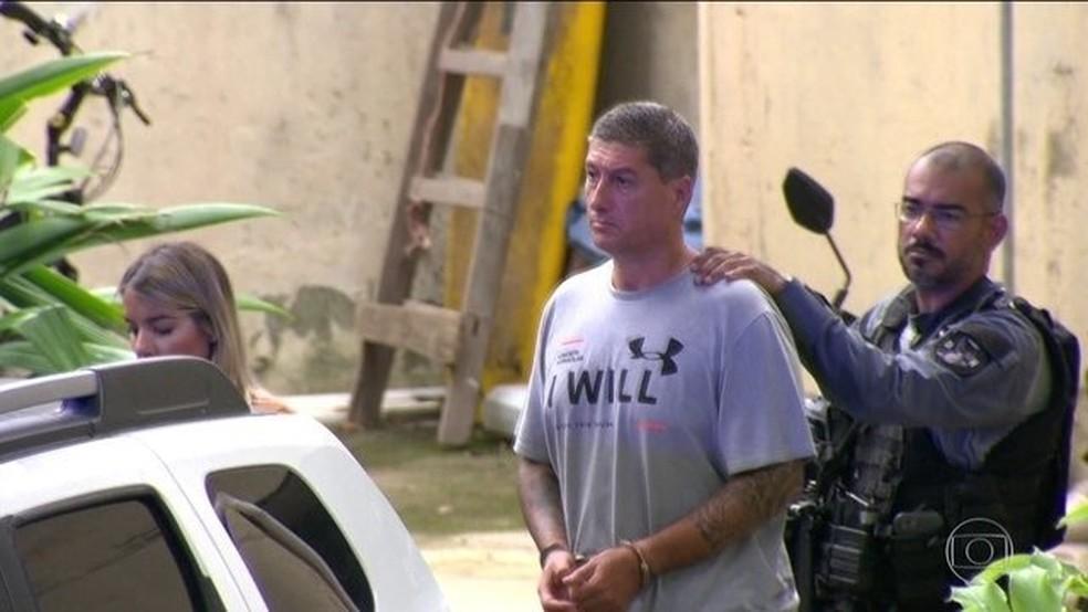 Ronnie Lessa, acusado de matar vereadora Marielle Franco