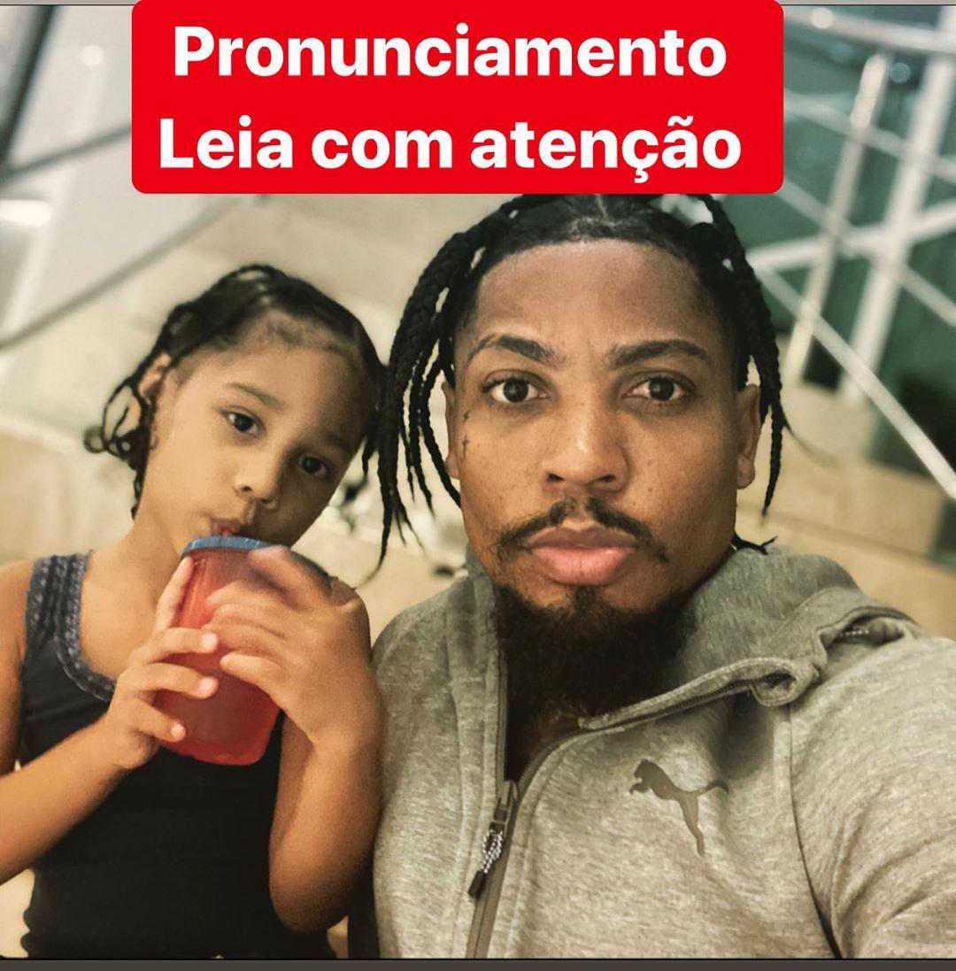 Marinho, jogador do Santos