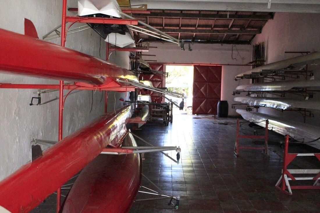 Garagem de remo do Clube Náutico Capibaribe