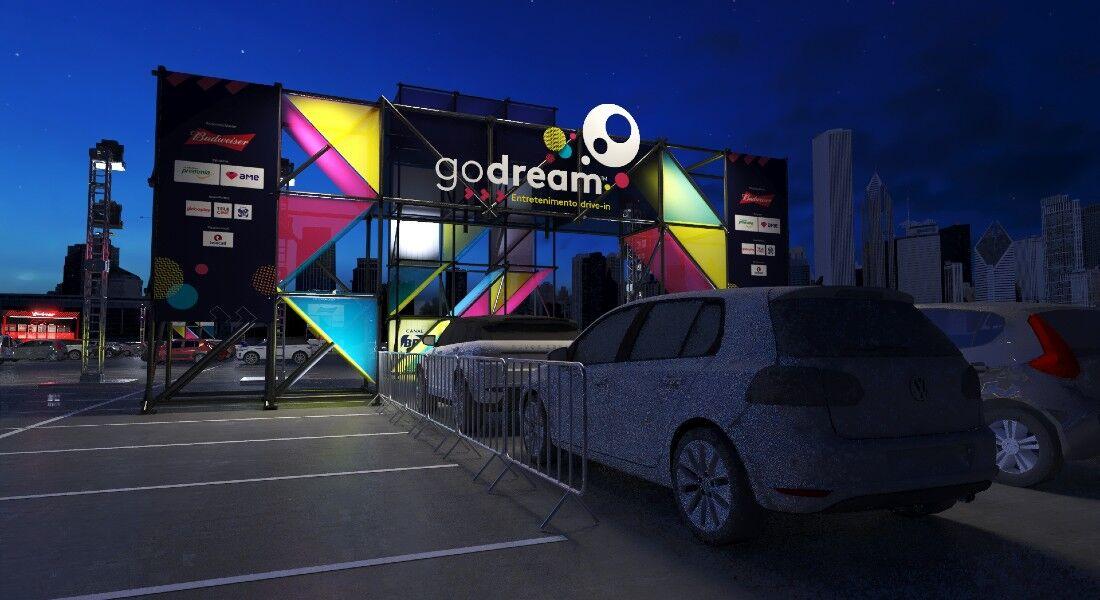 Visual da arena Go Dream será semelhante em todas as cidades que recebem o projeto