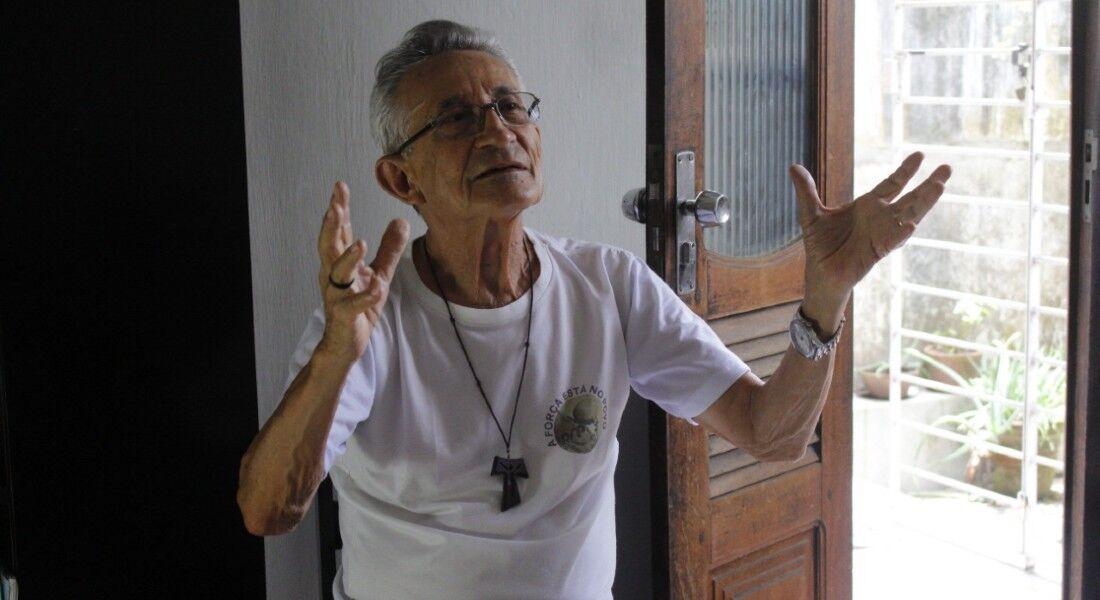 Reginaldo Veloso foi pároco no Morro da Conceição entre os anos 1970 e 1980