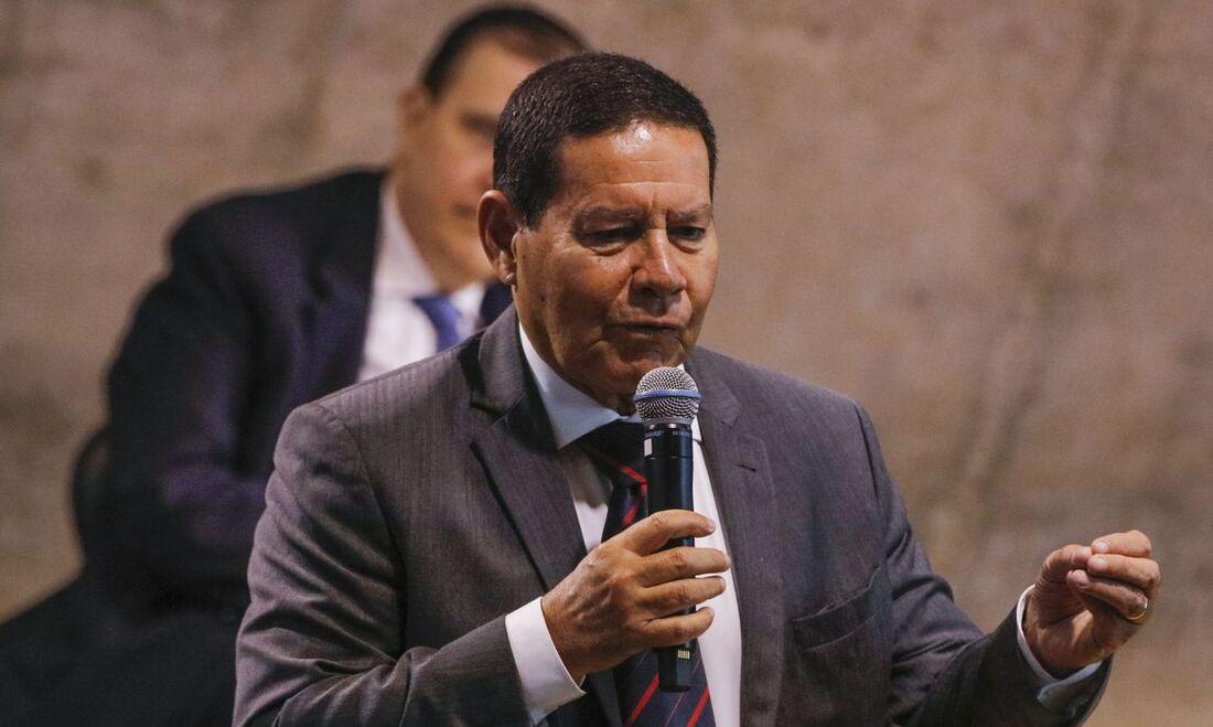 Vice-presidente, Hamilton Mourão