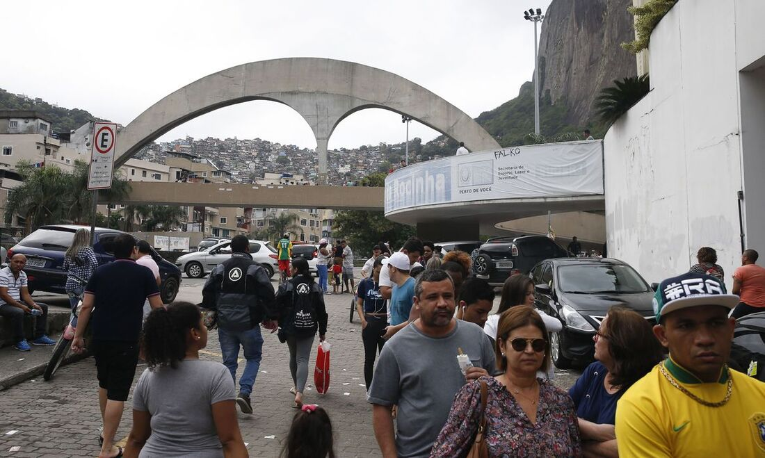 Rocinha, no Rio de Janeiro