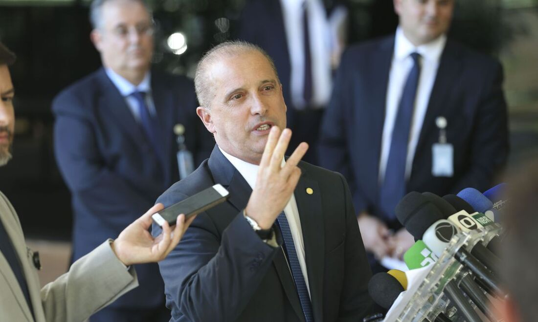 O ministro da Cidadania, Onyx Lorenzoni