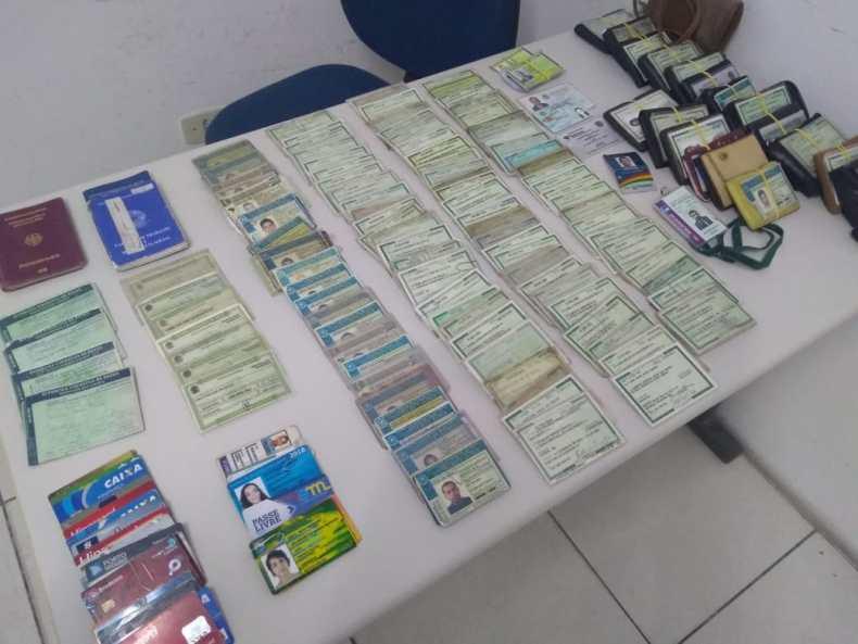 Itens encontrados no Carnaval de Olinda 2020