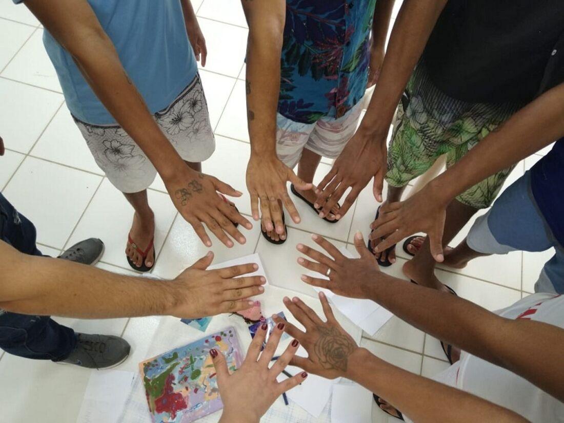 Reeducandos da Fundação de Atendimento Socioeducativo (Funase)