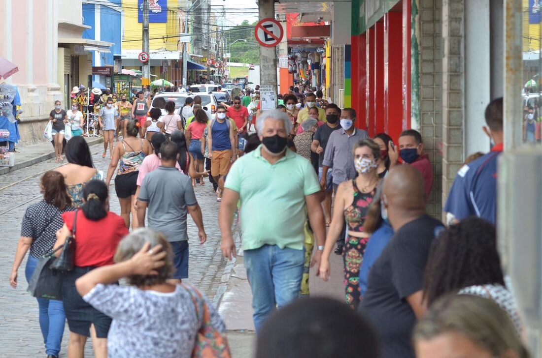 Comércio no Recife