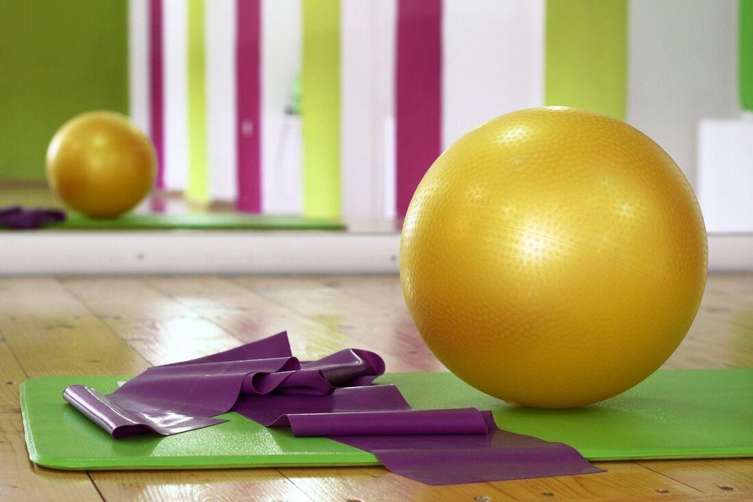 Prática de pilates