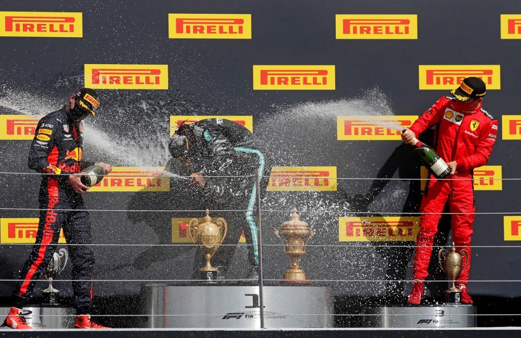 Lewis Hamilton vence GP da Inglaterra