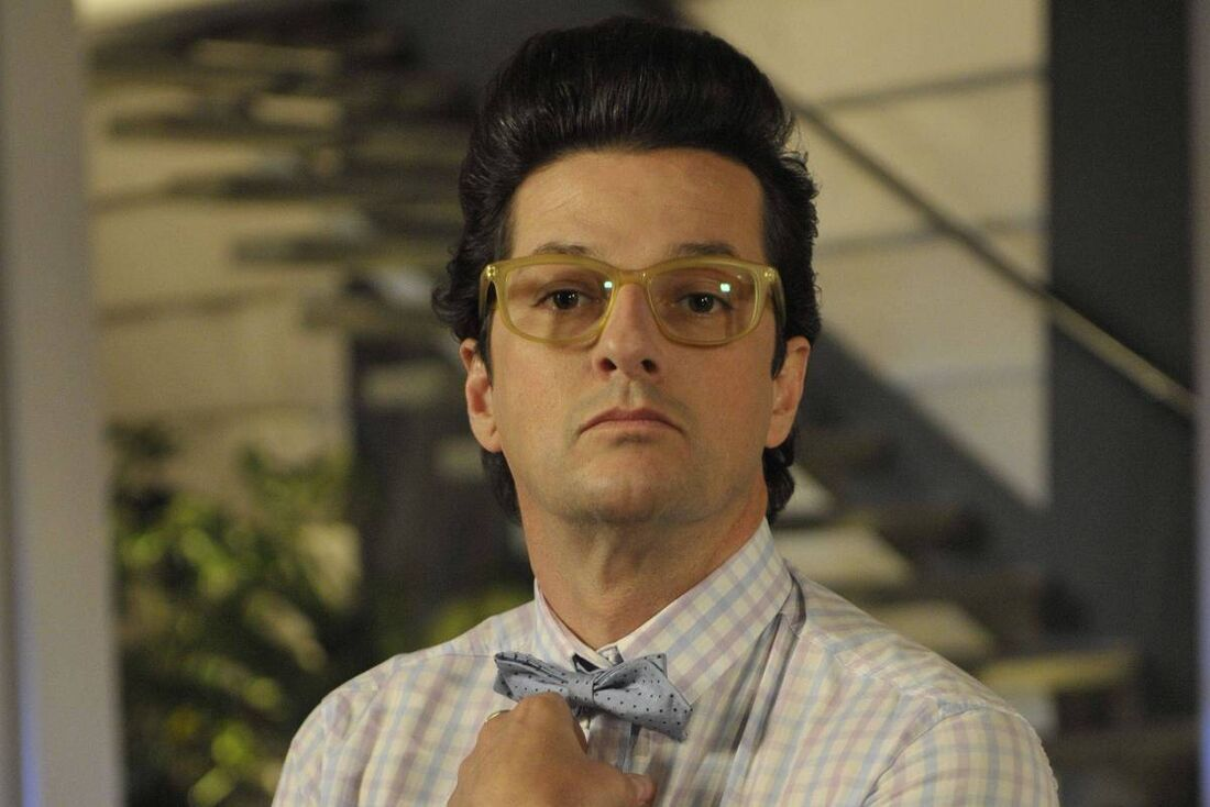 Marcelo Serrado como 'Crô' em 'Fina Estampa'