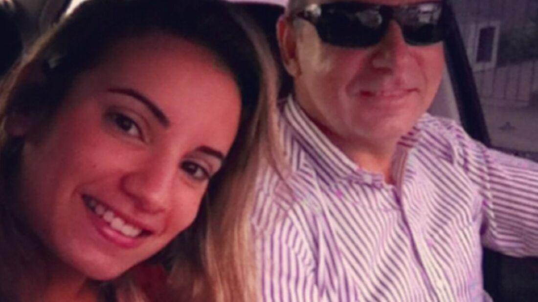 Queiroz e filha Nathália Queiroz