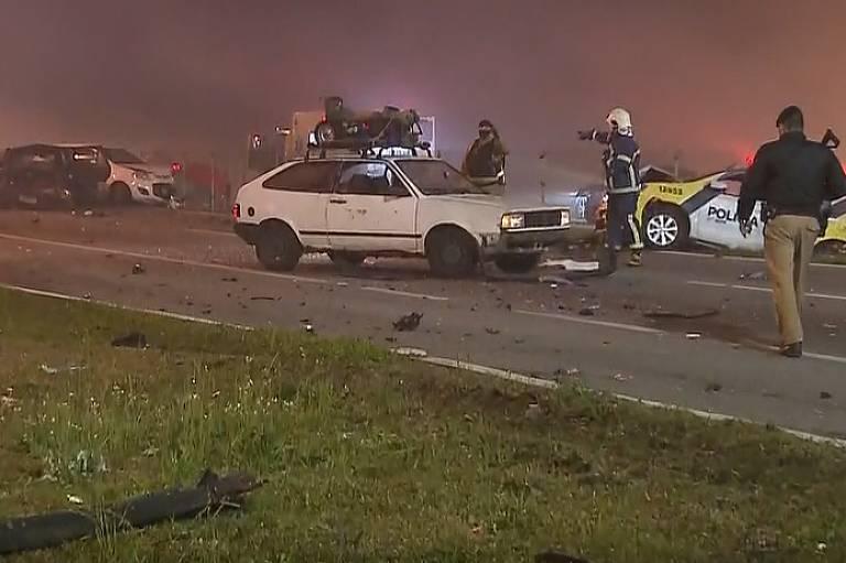 Acidente na BR-277, no Paraná