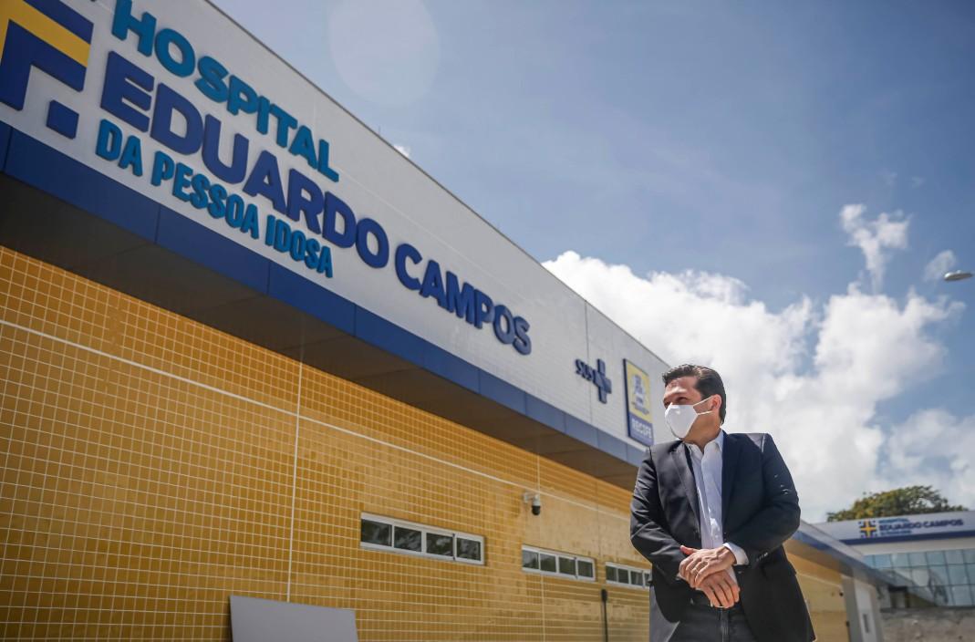 Prefeito Geraldo Julio (PSB) visita HECPI, que está prestes a ser concluído