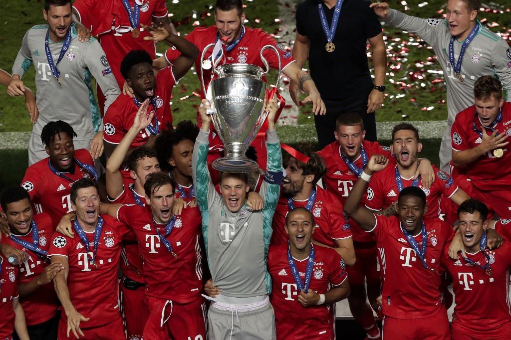 Bayern, campeão da Liga dos Campeões 2019/20