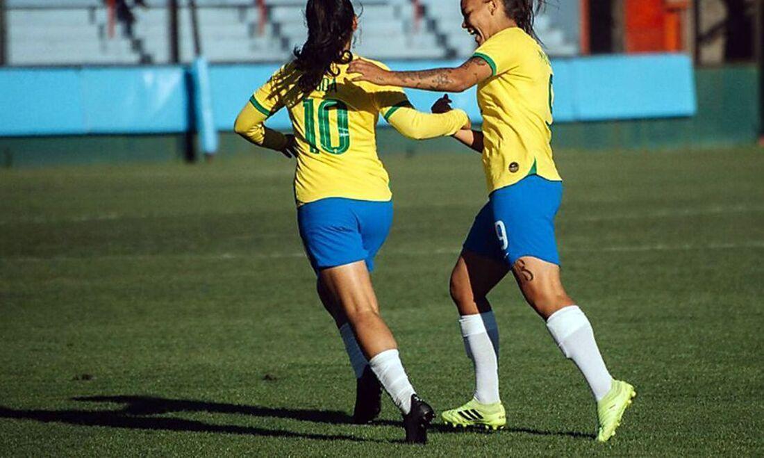 As brasileiras ganharam os quatro jogos disputados até o momento no torneio