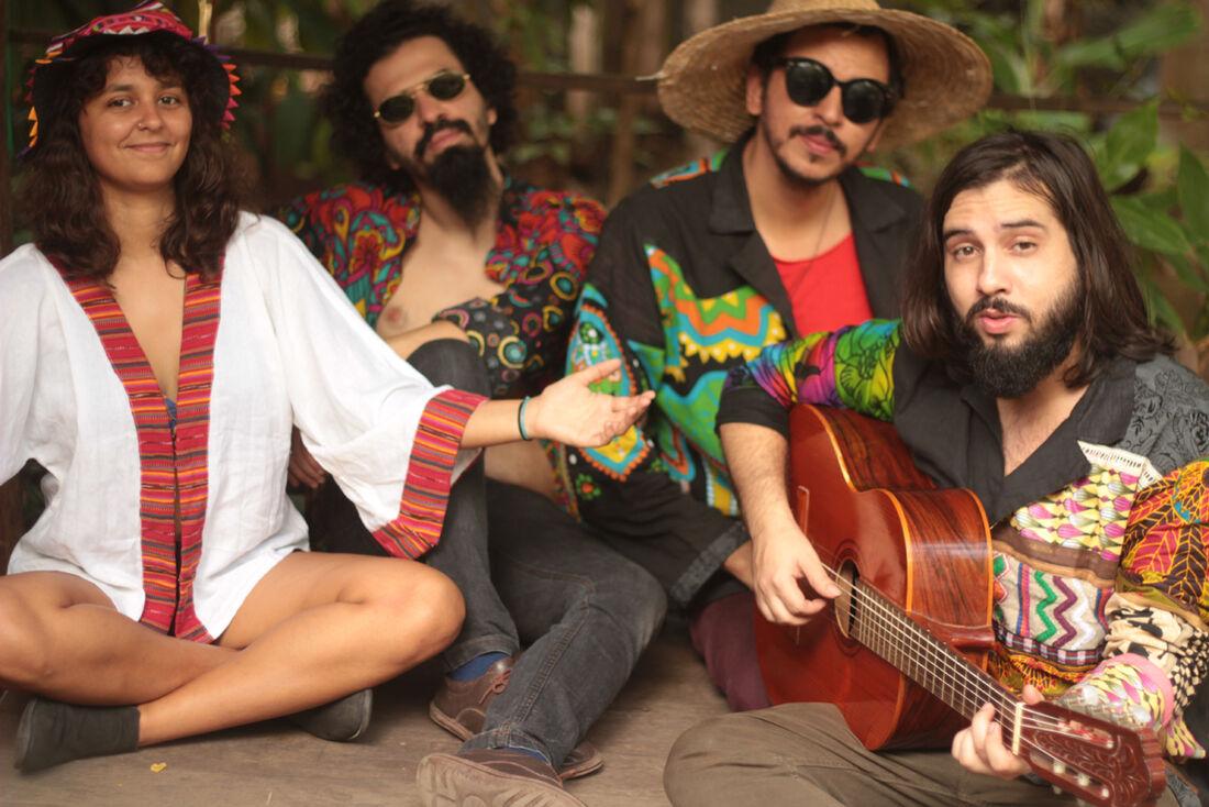 Marília, Marcelo, Juvenil e Julião formam o supergrupo Avoada