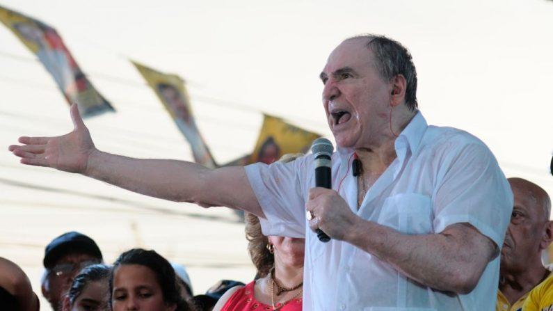 O ex-presidente equatoriano Abdalá Bucaram