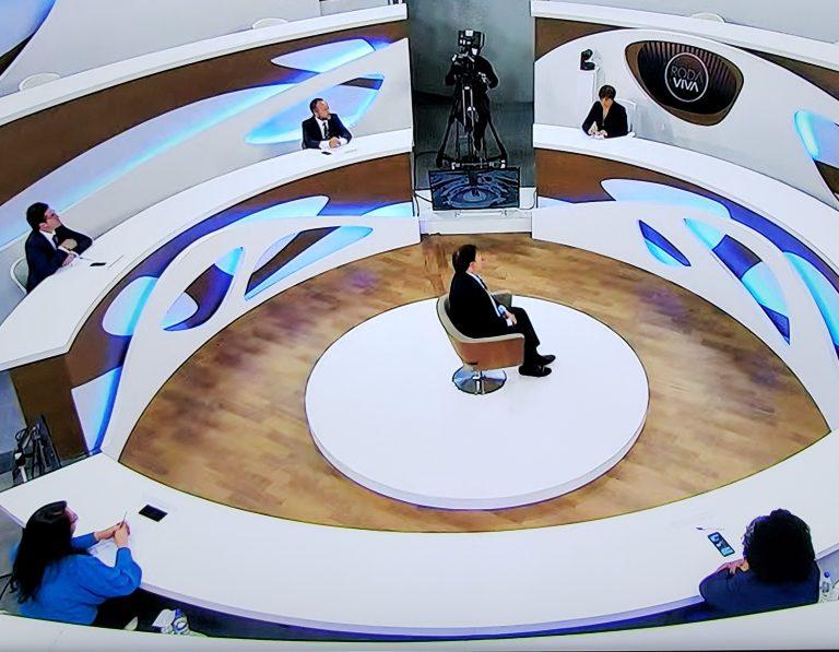 Rodrigo Maia foi entrevistado pelo programa Roda Viva