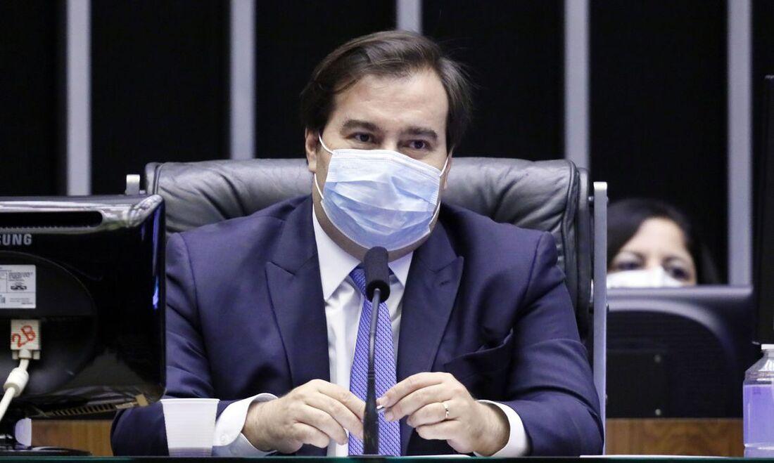 Presidente da Câmara dos Deputados, deputado Rodrigo Maia (DEM-RJ)