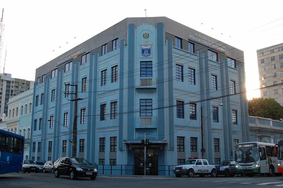 Sede operacional da Polícia Civil de Pernambuco