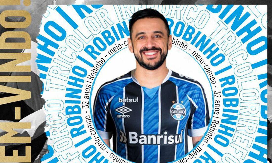 Robinho vira opção para Renato Gaúcho no setor ofensivo tricolor