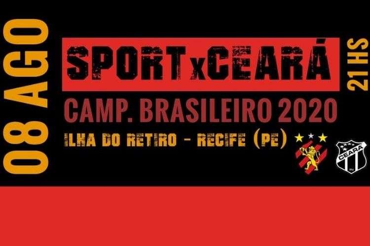 Ingresso virtual para a estreia do Sport no Brasileiro
