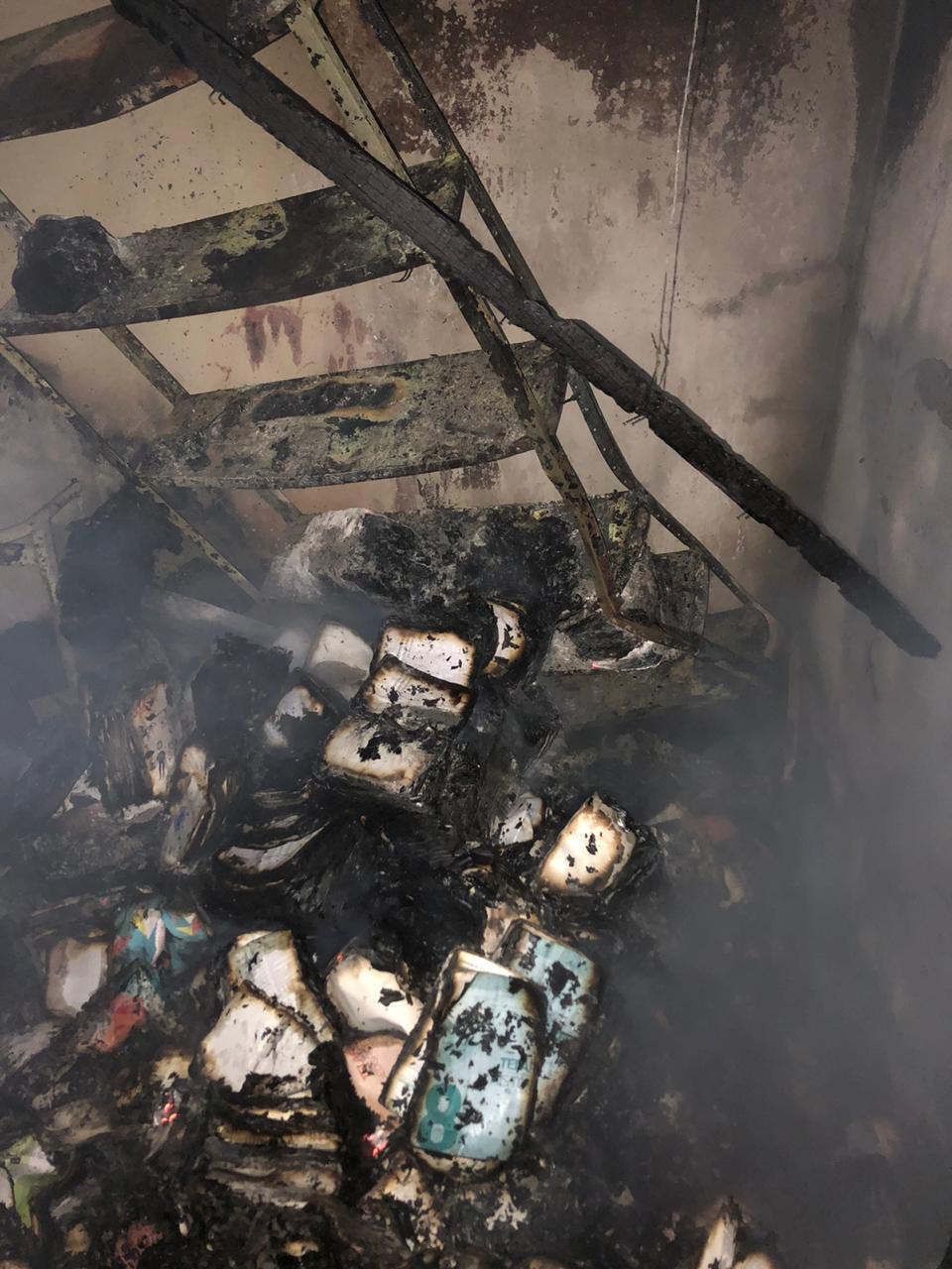 Incêndio em uma escola Fulni-Ô, no Agreste pernambucano