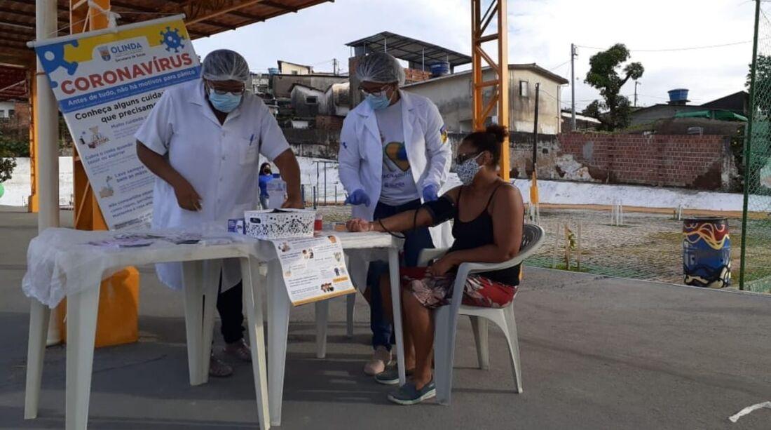 Espaço de Lazer do Caenga recebe serviços de saúde nesta quinta-feira (13)