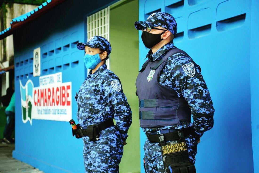 Guarda municipal de Camaragibe