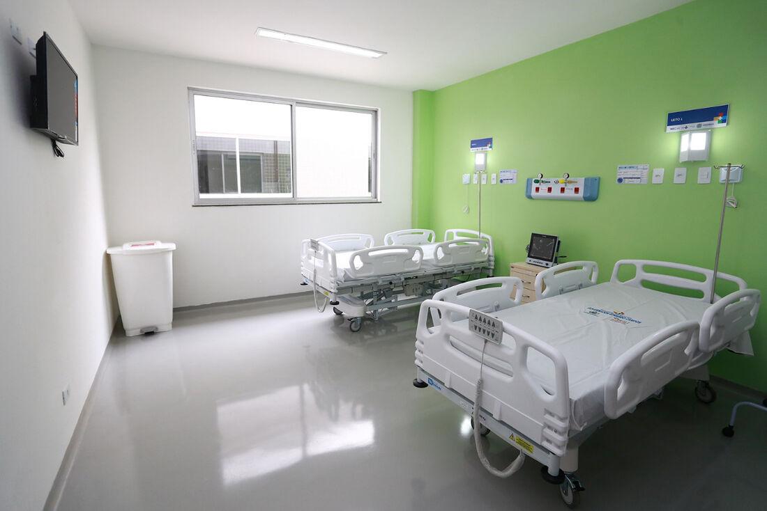 Novos leitos para Covid-19 no Hospital Eduardo Campos, em Serra Talhada
