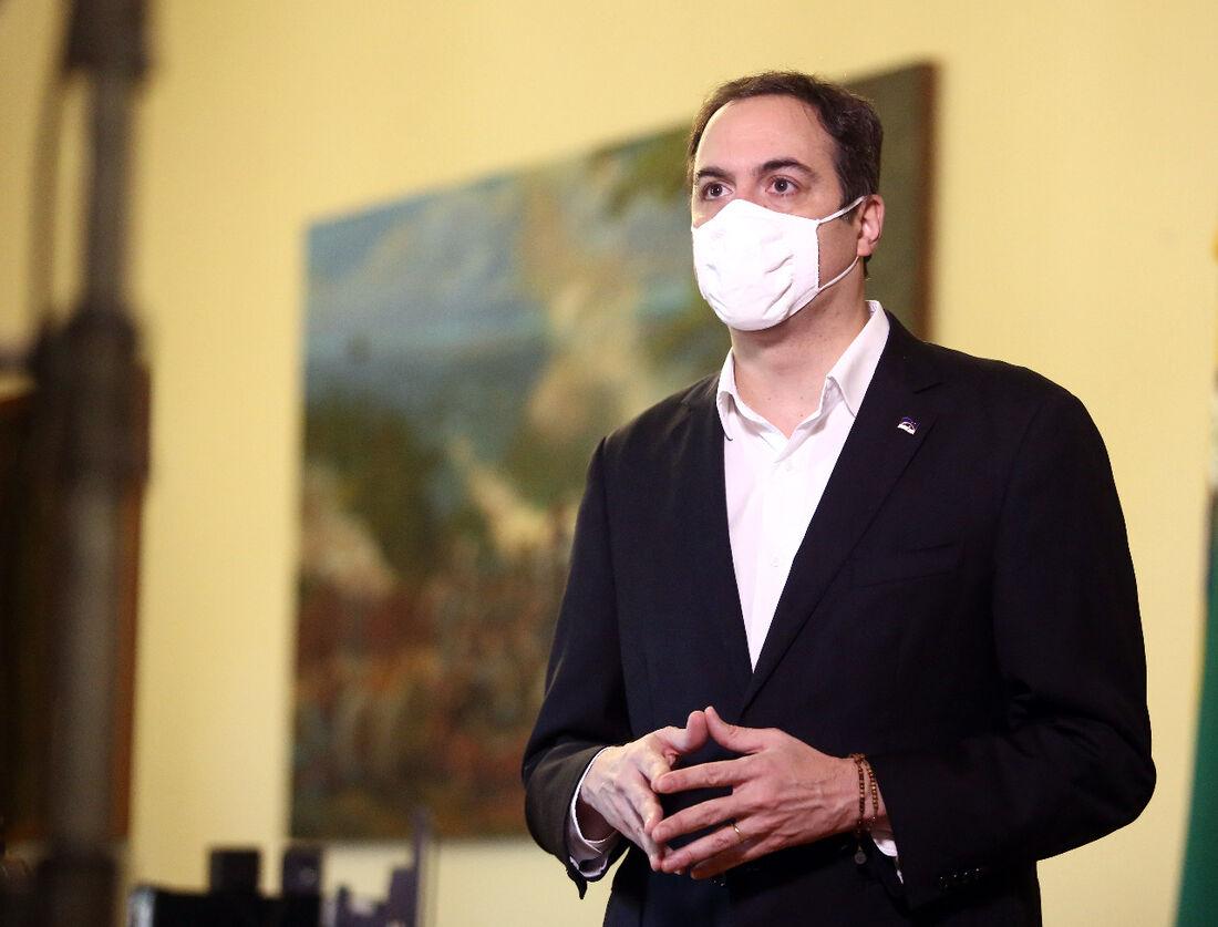 Governador Paulo Câmara (PSB) pediu empenho nas medidas de prevenção