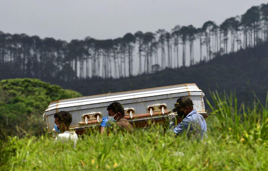Mortes por coronavírus na América Latina