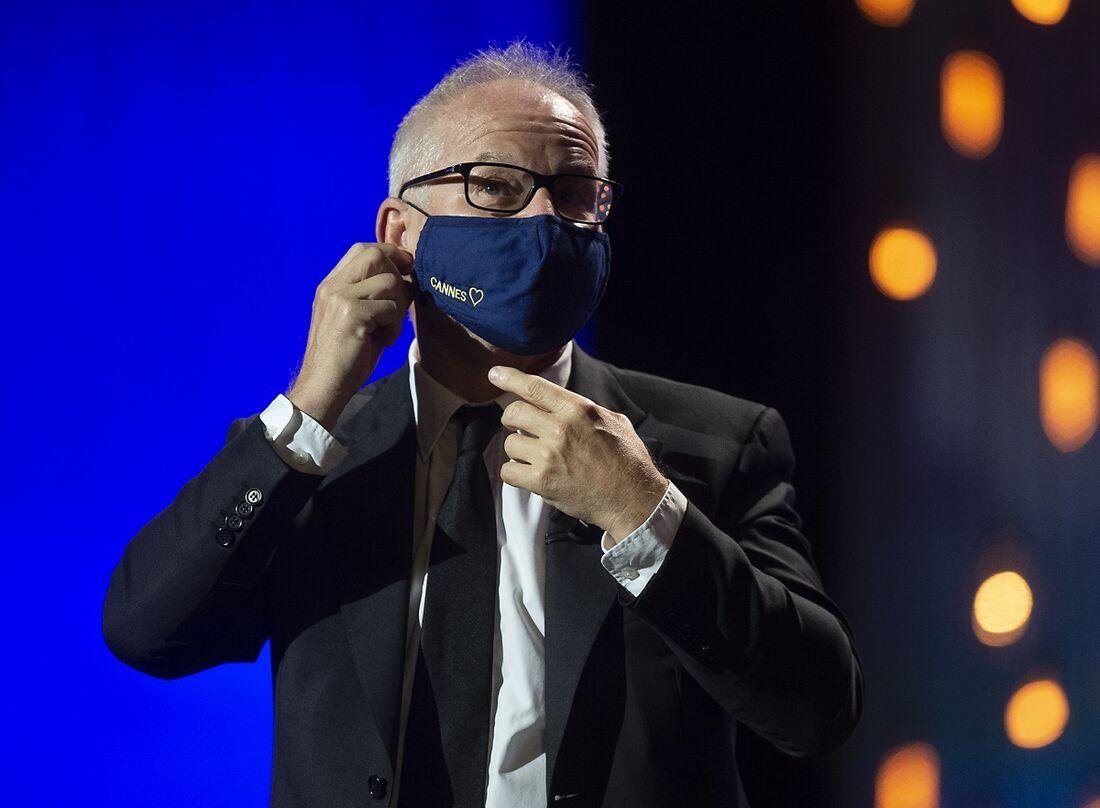 Thierry Fremaux,  diretor do Institut Lumière, do Lumière Film Festival e do Festival de Cannes