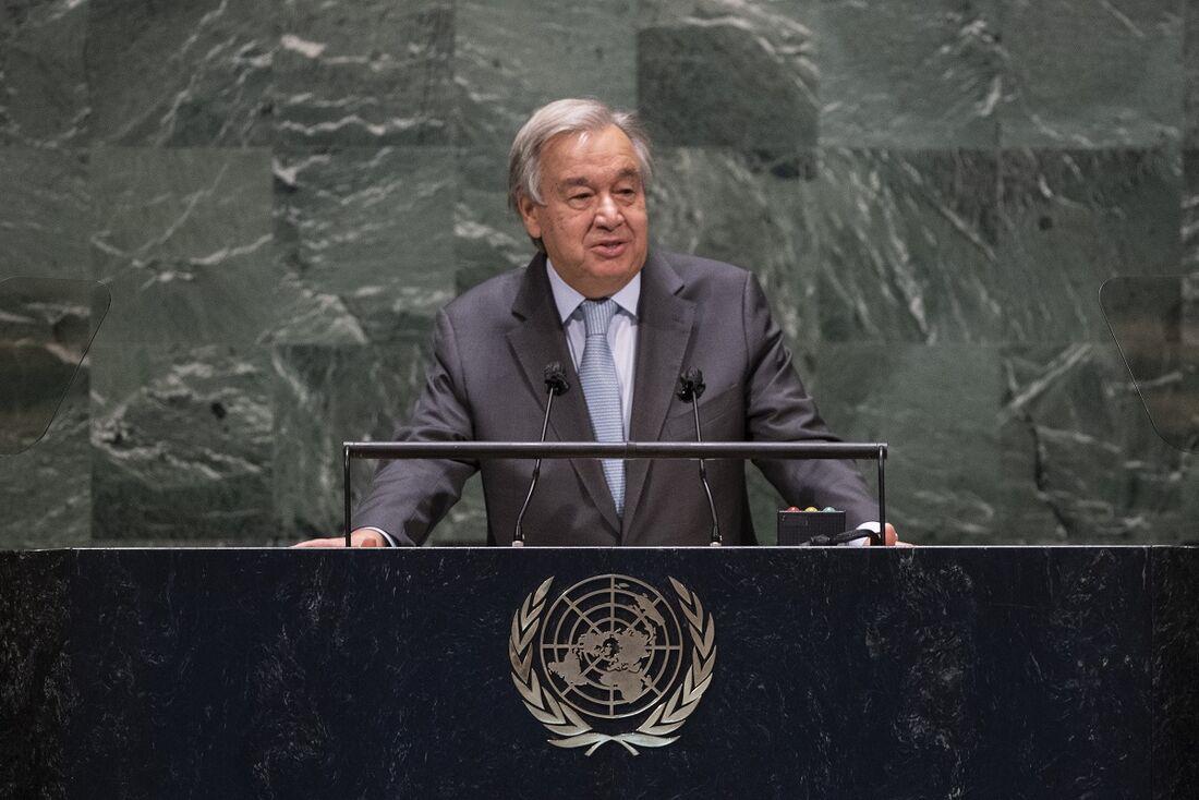 Secretário-geral da Organização das Nações Unidas (ONU), António Guterres