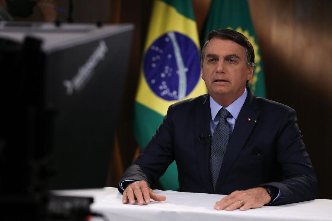 Jair Bolsonaro (sem partido) em discurso à ONU