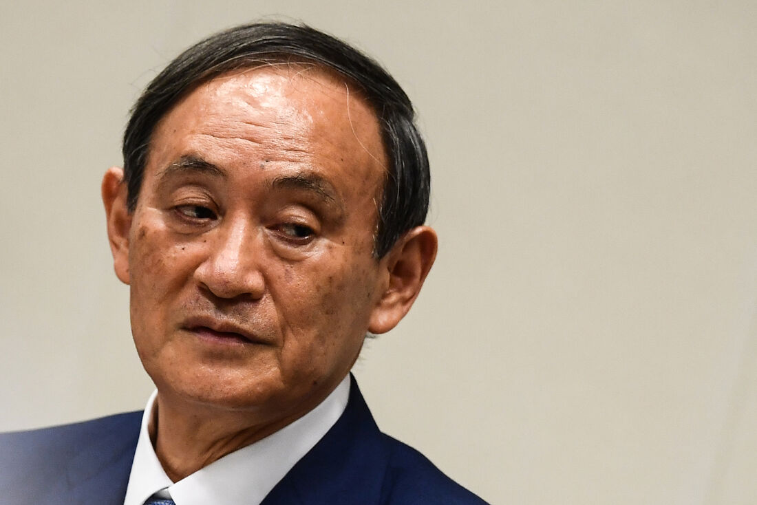 Yoshihide Suga, primeiro-ministro japonês
