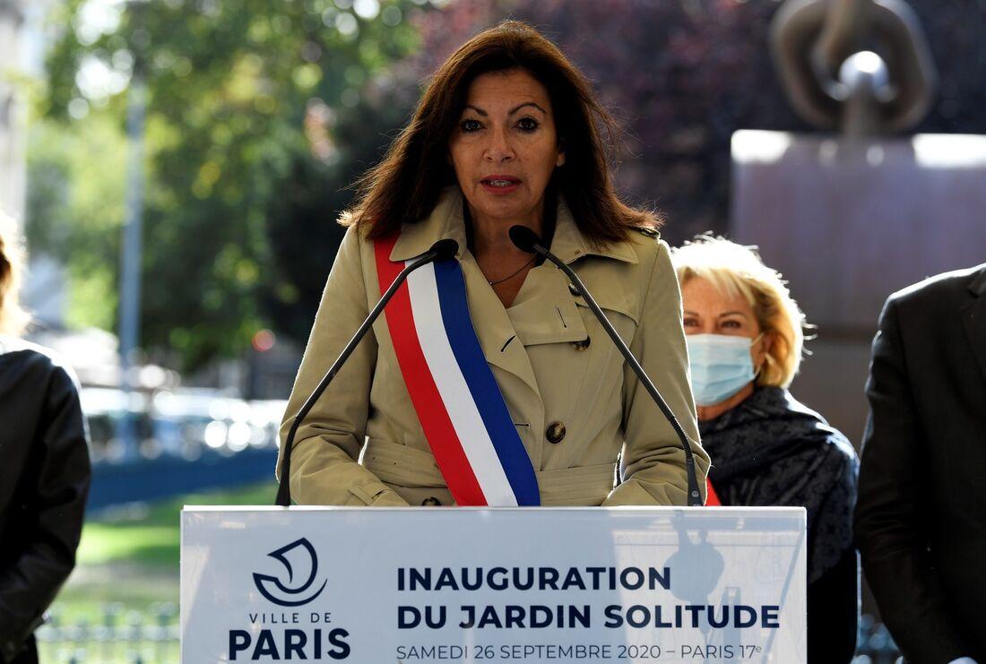 Anne Hidalgo, Prefeita de Paris